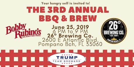 Third Annual BBQ & Brew tickets
