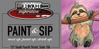 Paint & Sip | Sloth