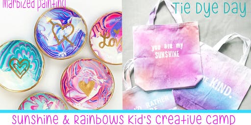 Kid's Summer Creative Camp-Sunshine & Rainbows