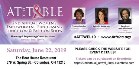 At The Table's 2nd Annual Women's Empowerment Fundraising Luncheon and Fashion Show  tickets