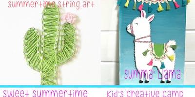 Kid's Summer Creative Camp-Sweet Summertime