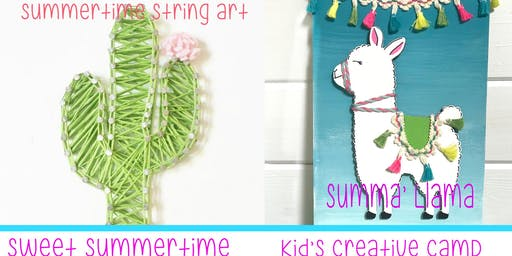 Kid's Summer Creative Camp-Sweet Summertime