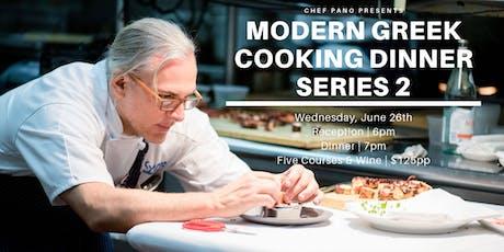 Modern Greek Cooking Dinner - Series Two tickets