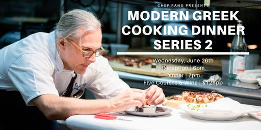 Modern Greek Cooking Dinner - Series Two