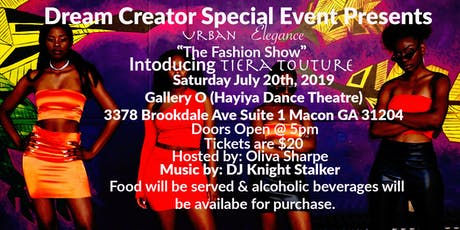 "Urban Elegance ""The Fashion Show"" tickets"