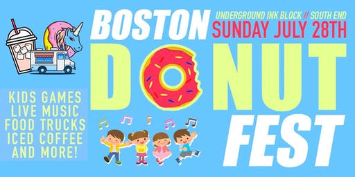 Boston Donut Fest - Sunday July 28th