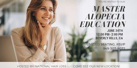 Master Alopecia Education tickets