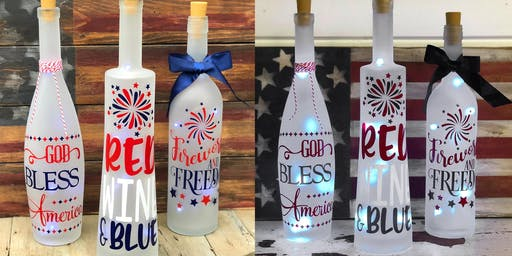 Light Up Summer Bottle Workshop