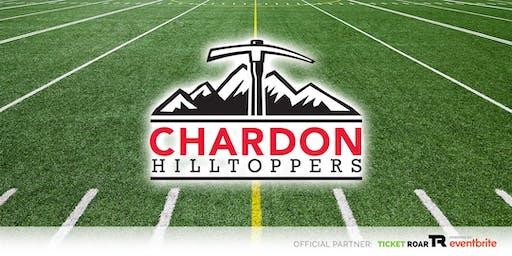 Chardon vs Riverside Varsity Football