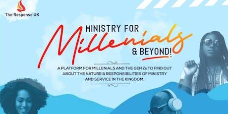 Ministry for Millennials & Beyond tickets