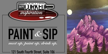 Paint & Sip | Majestic Mountains tickets