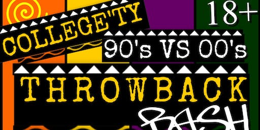 90's vs 00's Thrownback Bash