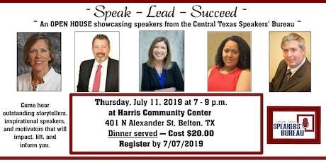 Speak-Lead-Succeed  tickets