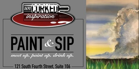 Paint & Sip | Thunder on the Plains tickets