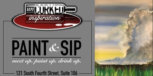 Paint & Sip | Thunder on the Plains