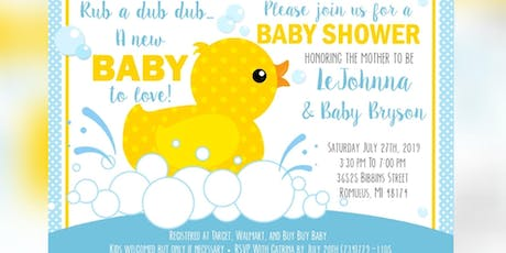 LeJohnna and Baby Bryson Babyshower tickets