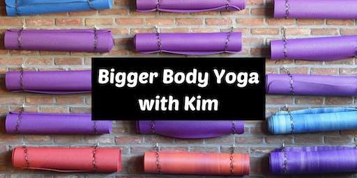 Bigger Body Yoga with Kim