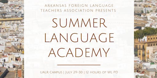 Summer Language Academy 2019