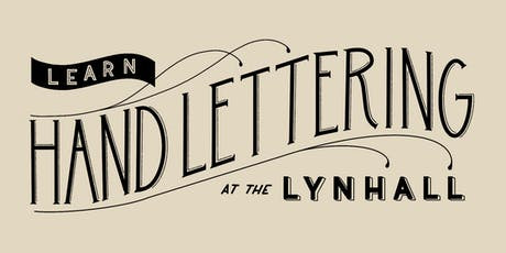 Learn Hand Lettering at The Lynhall tickets