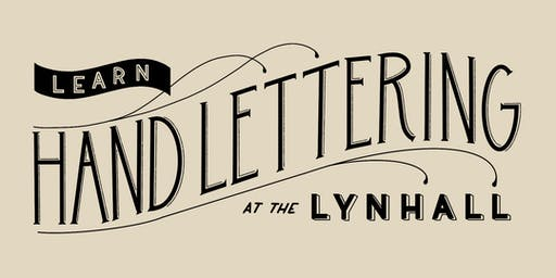 Learn Hand Lettering at The Lynhall