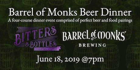 Bitters & Bottles | Barrel of Monks Brewery Beer Dinner  tickets
