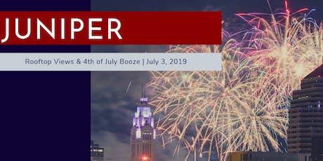 Juniper Red, White & Boom tickets