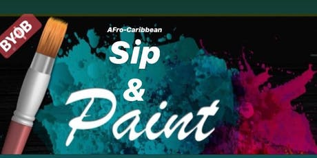 Afro-Caribbean Paint & Sip tickets