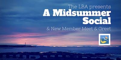 Midsummer Social. New member meet & greet