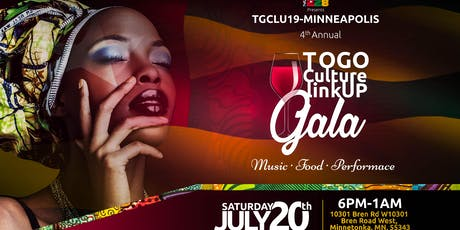 Togo culture link up 2019 tickets