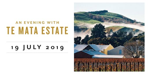 An Evening with Te Mata Estate