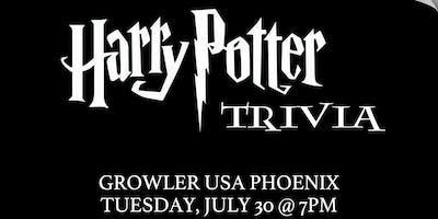 Harry Potter (Book) Trivia at Growler USA Phoenix