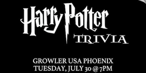 Harry Potter (Book) Trivia at Growler USA Phoenix