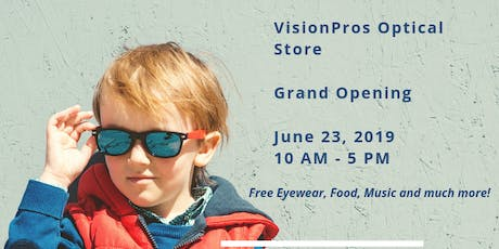 VisionPros Optical Surrey - Grand Opening tickets