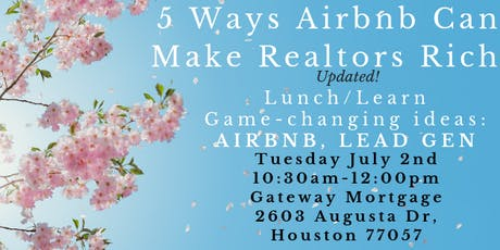 5 Ways Airbnb can Make Realtors Rich! tickets