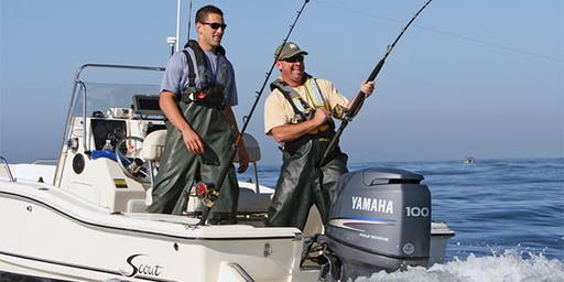 West Marine Plymouth Presents On The Water's Striper Cup!