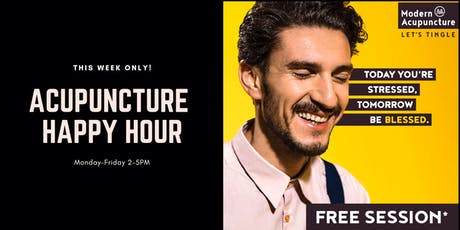 Acupuncture Happy Hour tickets