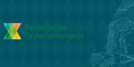 Uitreiking Rotterdamse Ondernemersprijs 2019 tickets