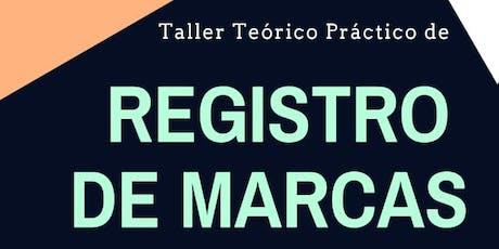 Taller Teórico Práctico de REGISTRO DE MARCAS entradas