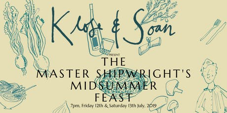 The Master Shipwright's Midsummer Feast tickets