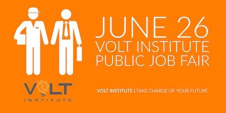 2019 VOLT Institute Student Job Fair tickets