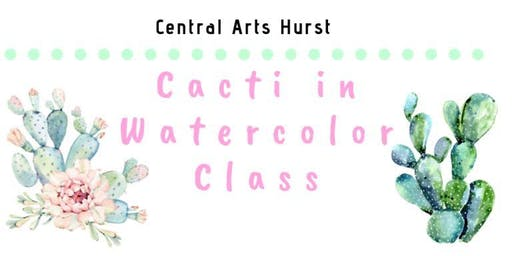 Cacti in Watercolors Class
