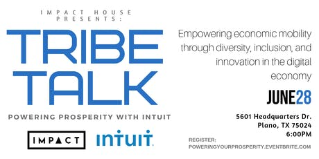 #TribeTalk - Powering Prosperity with Intuit tickets