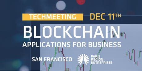TechMeeting - Blockchain Applications for Business tickets