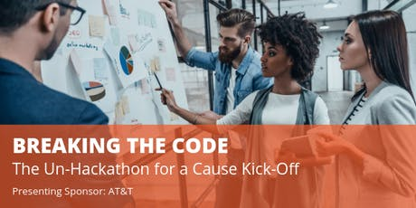 Breaking the Code: The Un-Hackathon for a Cause Kick-Off tickets
