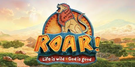 ROAR-Vacation Bible School tickets