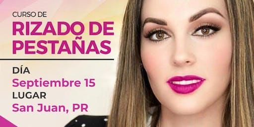 Curso de Rizado de Pestañas - San Juan, PR