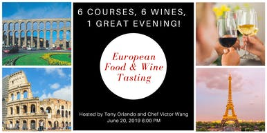 European Wine & Food Tasting
