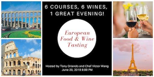 European Wine & Food Tasting