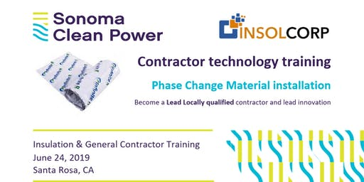 Sonoma Clean Power Contractor Training - Phase Change Materials