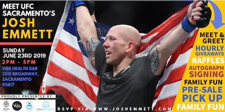 Meet and Greet with UFC Sacramento's Josh Emmett | *Sacramento* tickets